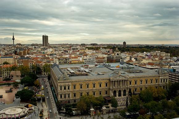 Terraza_Colon, las mejores terrazas con vistas de Madrid