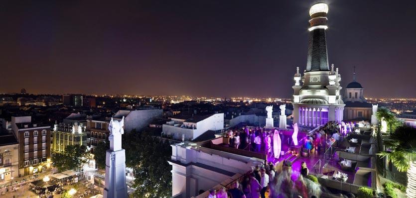 The Roof, Las mejores terrazas con vistas de Madrid