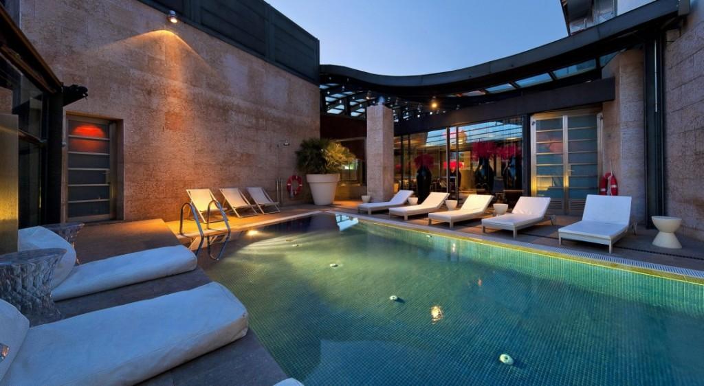 HOTEL URBAN , las mejores terrazas con vistas de Madrid