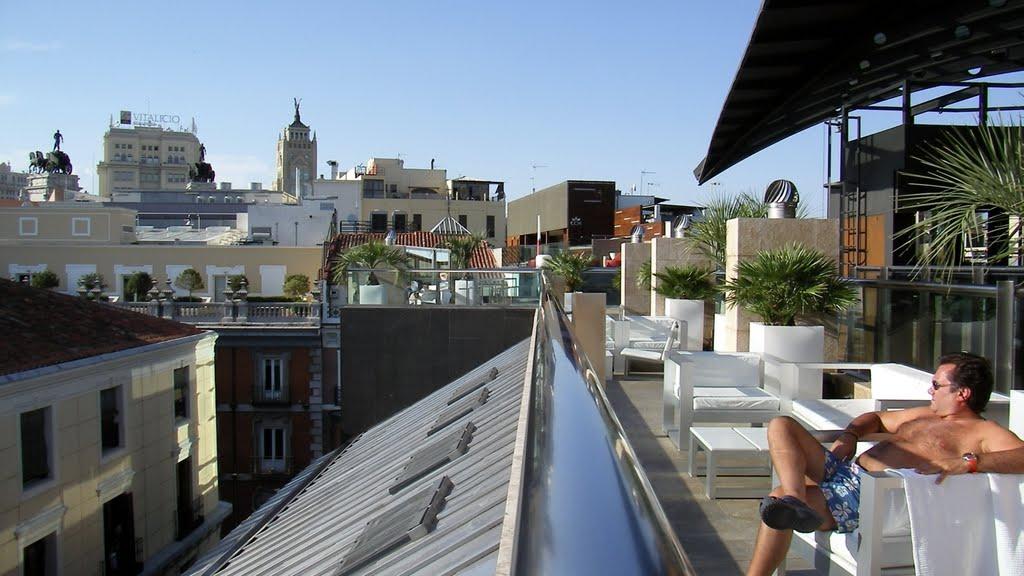 Cocido madrile o las 25 mejores terrazas con vistas de for Terrazas nocturnas madrid