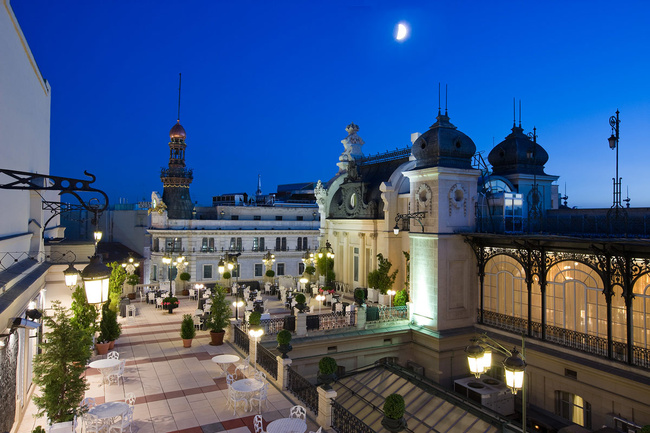 Las mejores terrazas con vistas de Madrid, TERRAZA CASINO DE MADRID