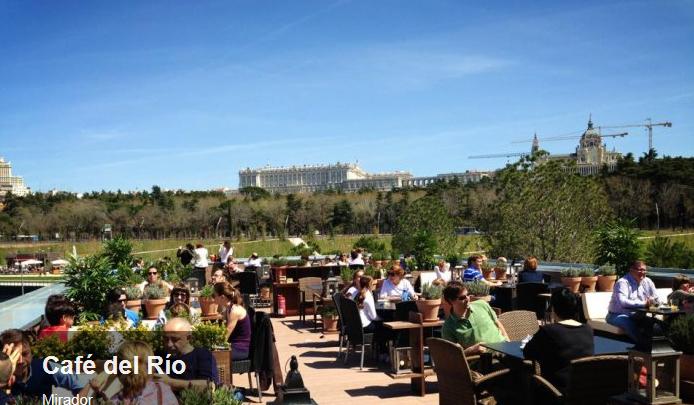 cafe del rio, las mejores terrazas de Madrid