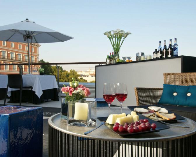 El Mirador del Thyssen, las mejors terrazas con vistas de Madrid
