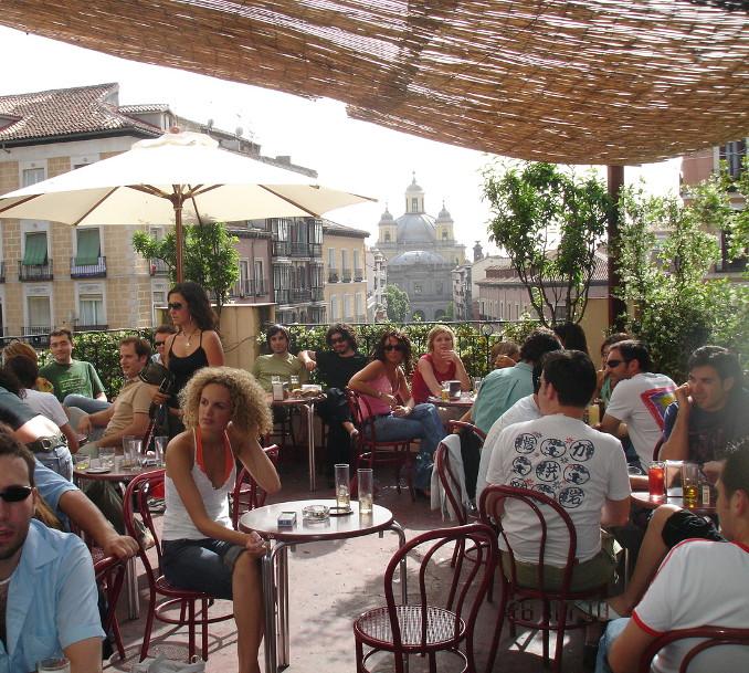 el viajero , las mejores terrazas con vistas de Madrid