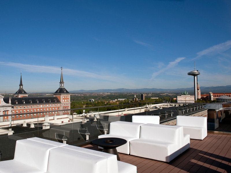 Exe Moncloa, las mejores terrazas con vistas de Madrid