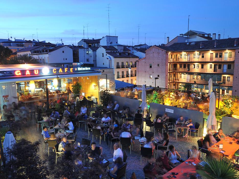 gau & cafe; Lasmejores terrazas con vistas de Madrid