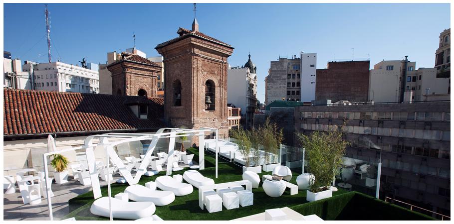 Gymage, las mejores terrazas de Madrid con vistas