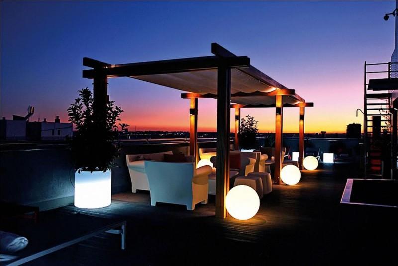 Las mejores terrazas con vistas de Madrid. Hotel Tirol.