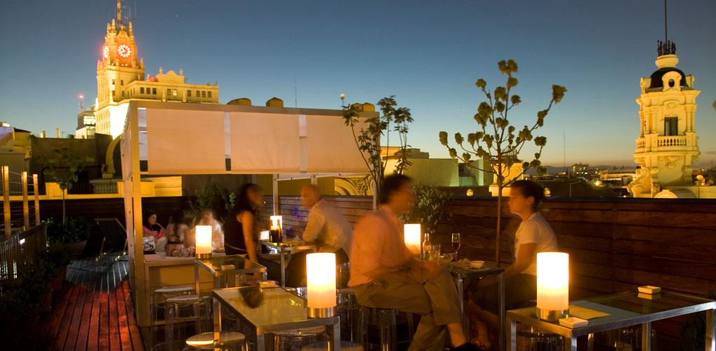 Las mejores terrazas con vistas de Madrid, hotel de las Letras
