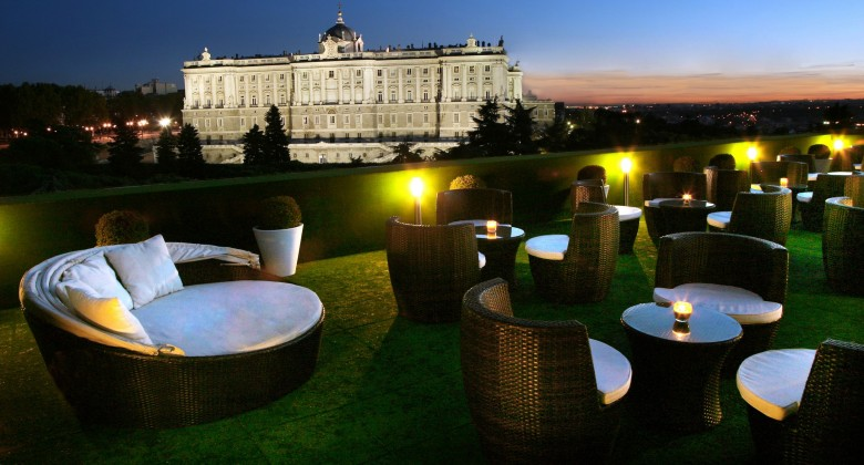 Cocido madrile o las 25 mejores terrazas con vistas de for Restaurante jardines de sabatini