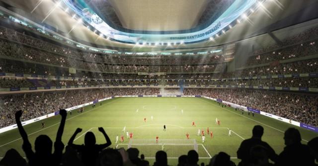 Nuevo estadio Bernabéu. Marcados 360 grados
